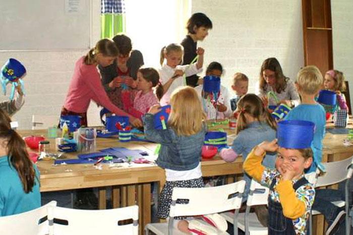 zondagsschool knutselen