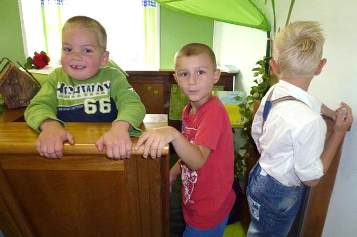 zondagsschool speelhuisje